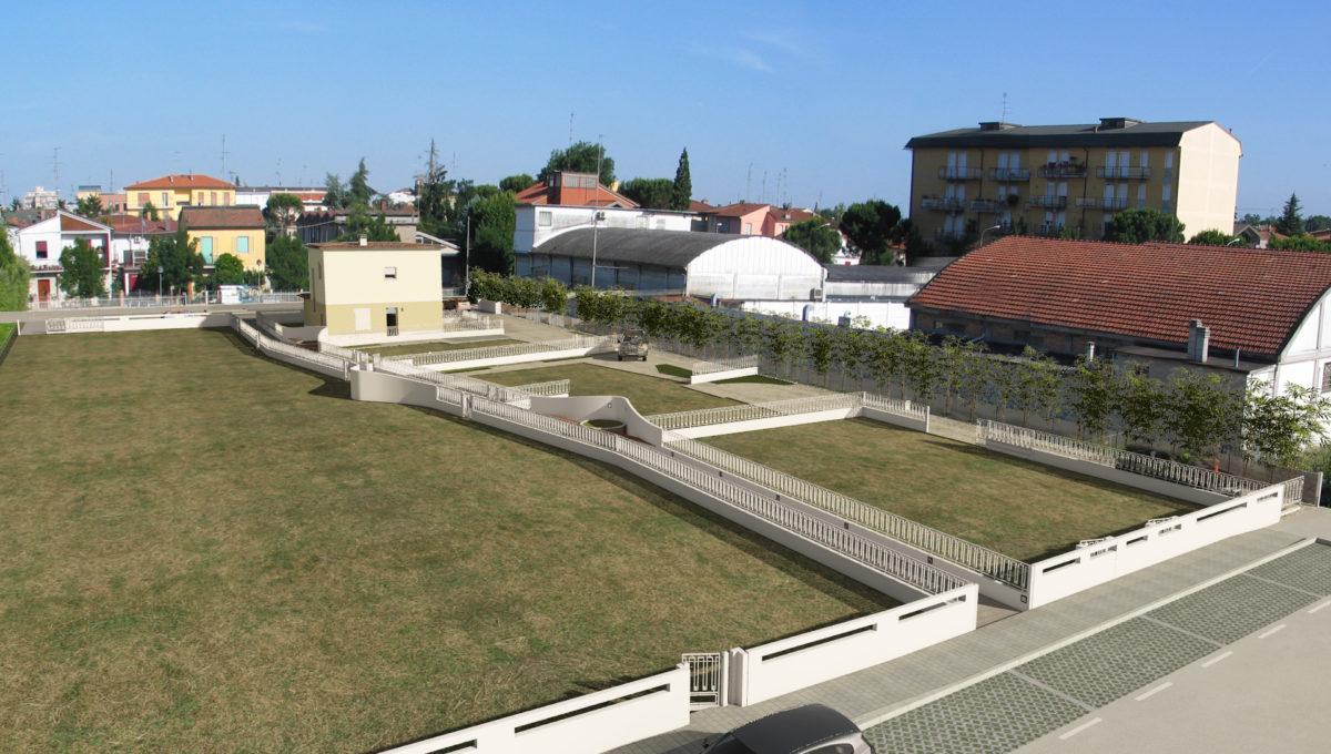 vista lato Via Bonoli